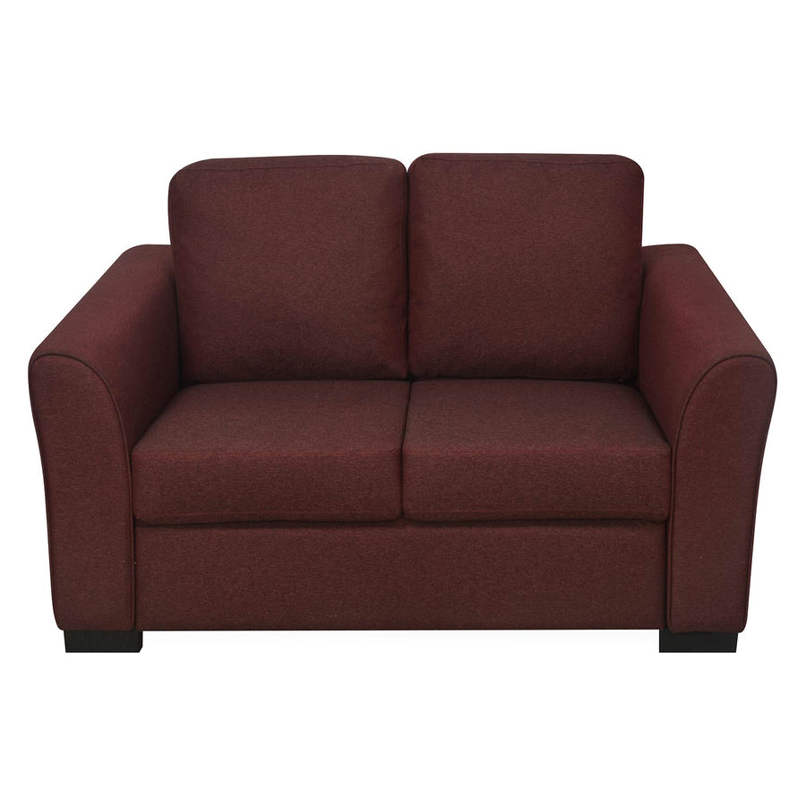 Nilkamal Array 2 Seater Mike Arm Sofa (Maroon)