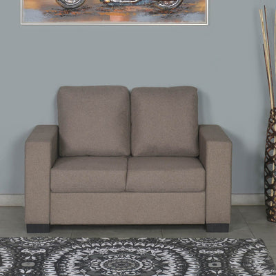 Nilkamal Array 2 Seater Ron Arm Sofa (Light Brown)