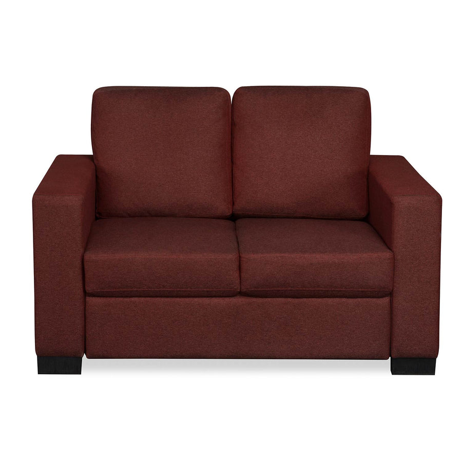 Nilkamal Array 2 Seater Ron Arm Sofa (Maroon)