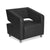 Nilkamal Arrow 1 Seater Sofa (Black)