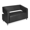 Nilkamal Arrow 2 Seater Sofa (Black)