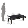 Nilkamal Belfast Center Table (Black)