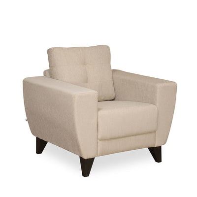 Nilkamal Brilliance 1 Seater Sofa (Beige)
