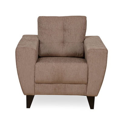 Nilkamal Brilliance 1 Seater Sofa (Brown)