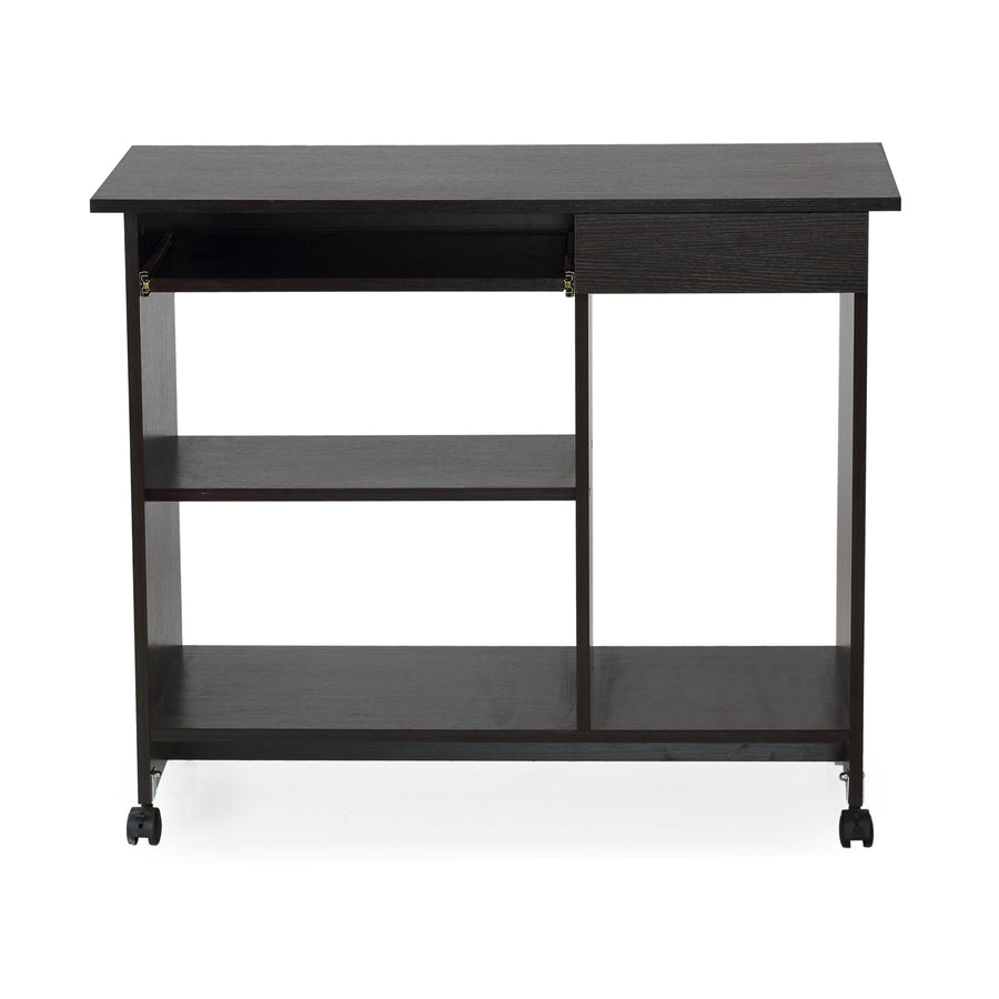 Nilkamal Spacio Computer Table (Black)