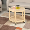 Nilkamal Center Table 3 (Marble Beige)