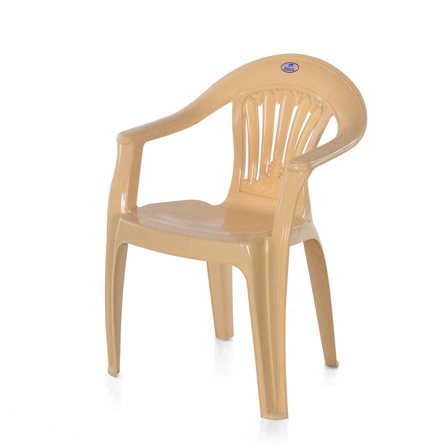 Nilkamal CHR2071 Low Back Chair (Marble Beige)