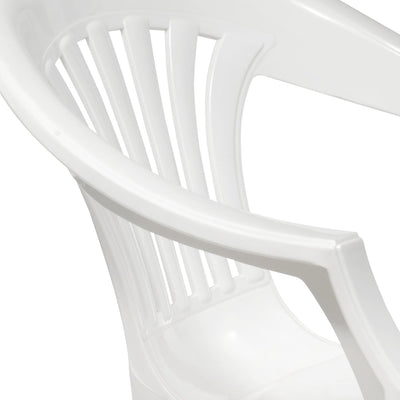 Nilkamal Mid Back Chair CHR2101 (Milky White)