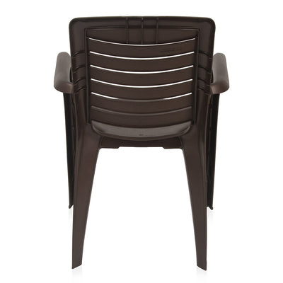 Nilkamal Premium Chair CHR 2145 (Weather Brown)