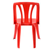 Nilkamal CHR 4001 Armless Chair (Bright Red)