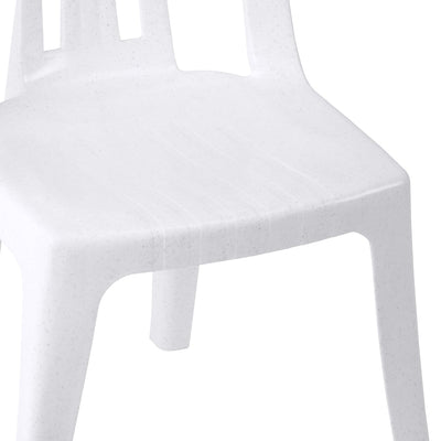 Nilkamal Armless Chair CHR4001 (Granite Black)
