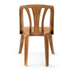 Nilkamal Armless Chair CHR4001 (Pear Wood)