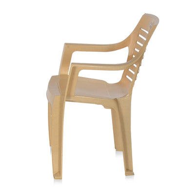 Nilkamal CHR 6020 Mid Back Chair With Arm (Marble Beige)