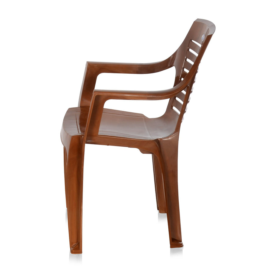 Nilkamal CHR 6020 Mid Back Chair With Arm (Pear Wood)