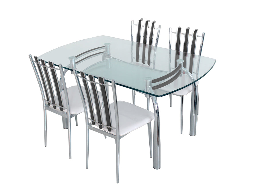 Nilkamal Chrysanta 4 Seater Dining Table Set