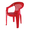 Nilkamal CHR 2101 Mid Back Chair With Arm (Bright Red)