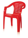 Nilkamal CHR2155 Mid Back Chair - Bright Red