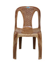 Nilkamal CHR 4015 Armless Chair - Pear Wood
