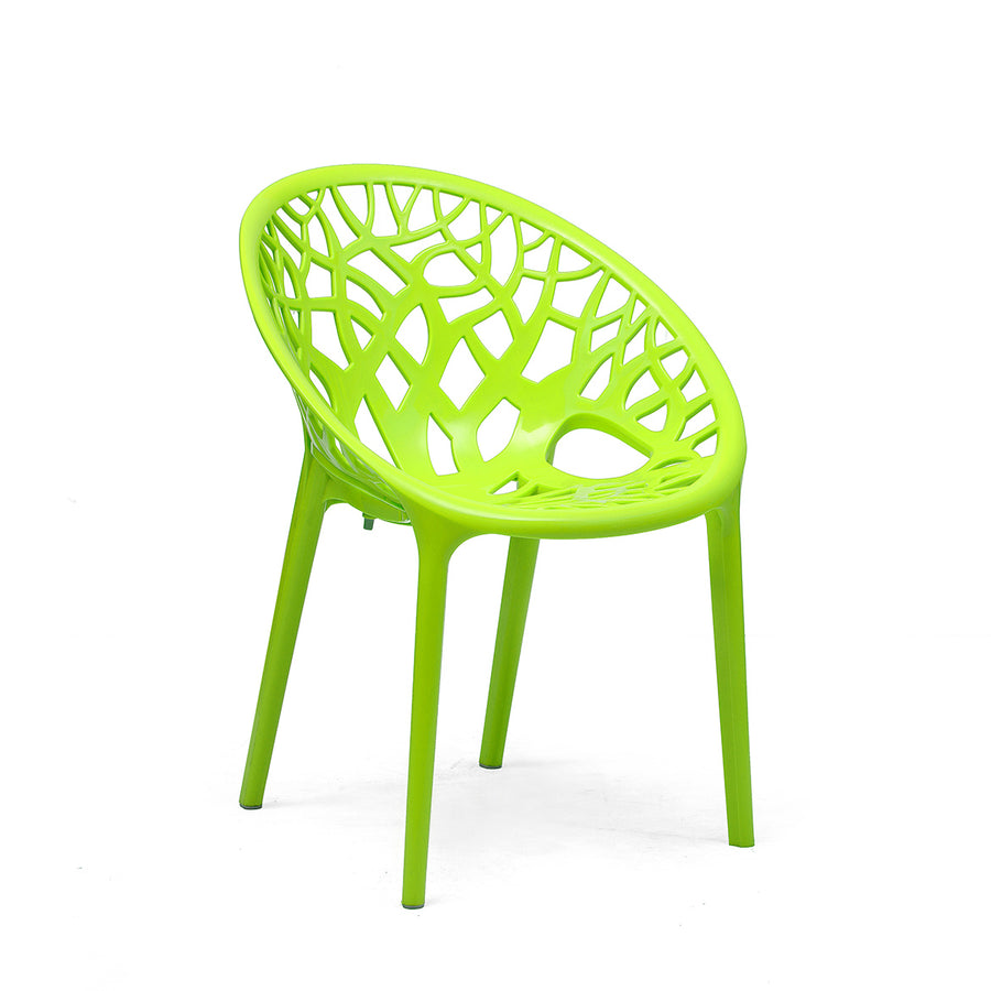 Nilkamal Crystal PP (Polypropylene) Lime Green
