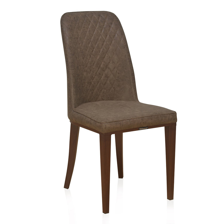 Nilkamal Cucina Dining Chair (Dark Brown)