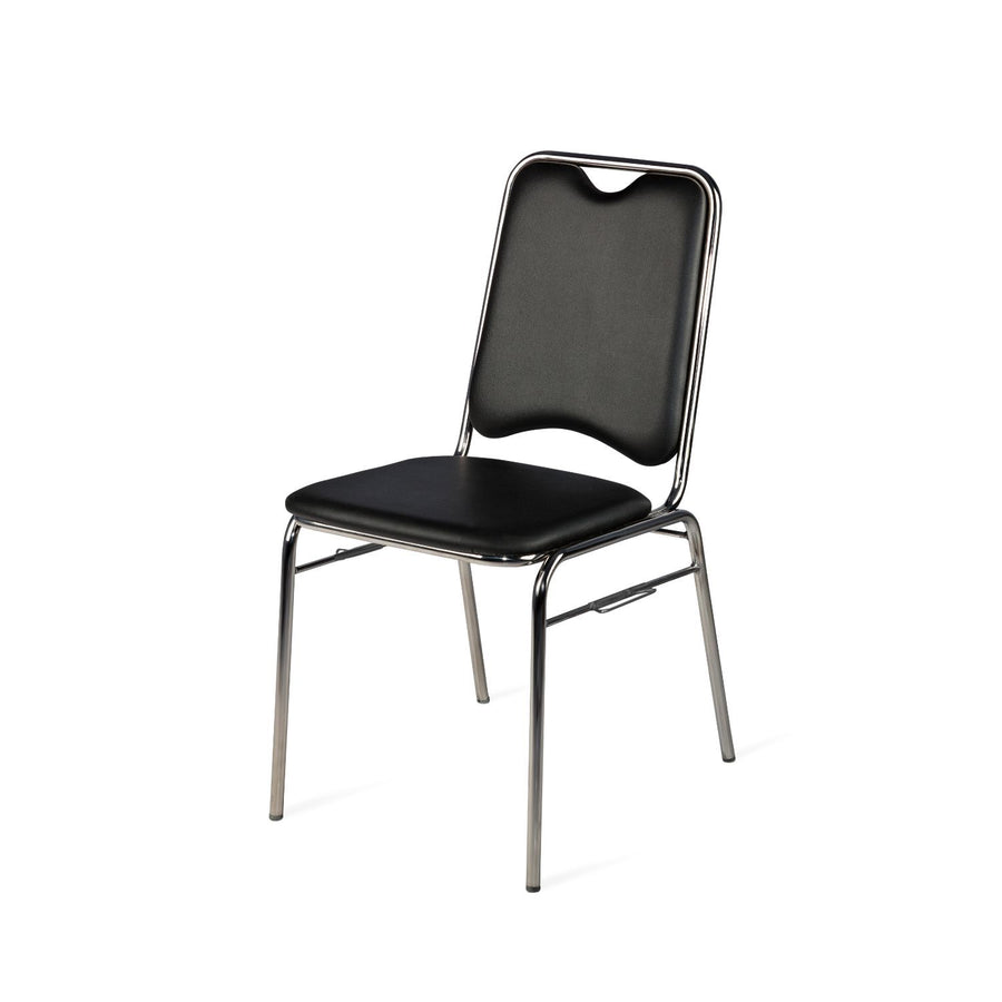 Nilkamal Contract 05 Without Arm Visitor Chair (Black)