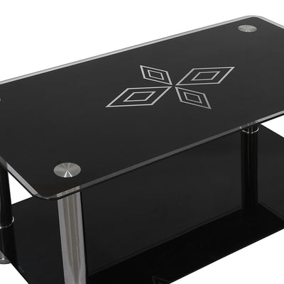 Nilkamal Dania Center Table (Black)