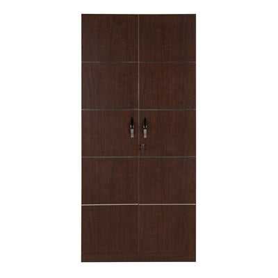 Nilkamal Delhi 2 Door Wardrobe (Brown Maple)