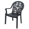 Nilkamal Desire Permium Chair (Iron Black)