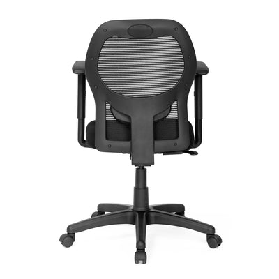Nilkamal Diva Mid Back Mesh Chair (Black)