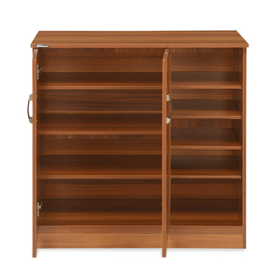 Nilkamal Easton Shoe Cabinet - Rosewood