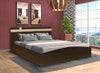 Nilkamal Edwina 01 Queen Bed (Brown)