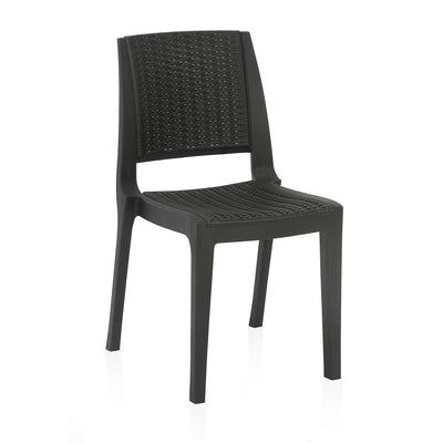 Nilkamal Enamora Chair (Iron Black)