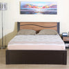 Nilkamal Enri King Bed (Wenge/Teak)