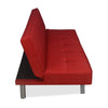 1 Felecia Sofa Cum Bed Red-IFELECSOFBEDRED