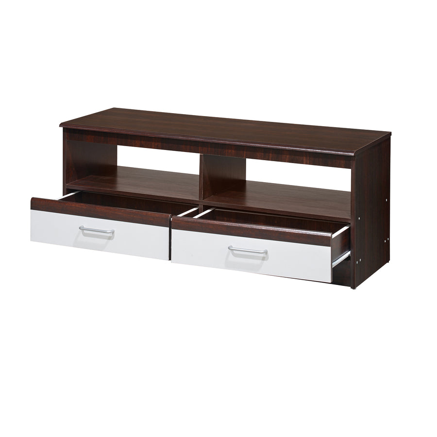 Nilkamal Forrest TV Cabinet (Walnut/White)
