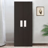 Nilkamal Gella 2 Door Wardrobe (Dark Brown/Cream)