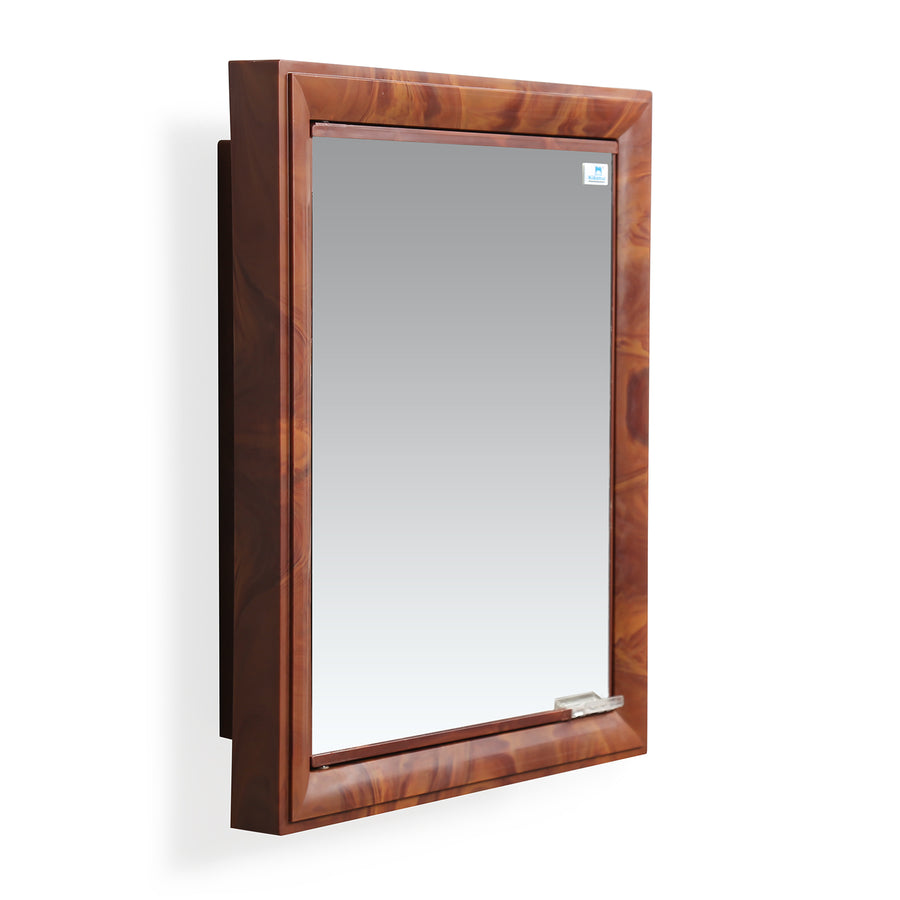 Nilkamal Gem Plastic Cabinet With Mirror (Mango Wood)