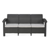 Nilkamal Goa Sofa 3 Seater - Grey