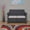 Nilkamal Goa Sofa 2 Seater, Grey