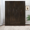 Nilkamal Harrier 4 Door Wardrobe (Wenge)