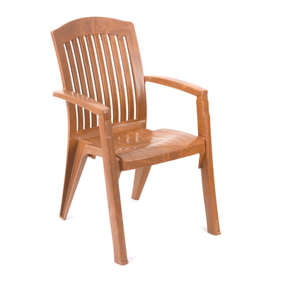 Nilkamal Heritage Chair (Pear Wood)