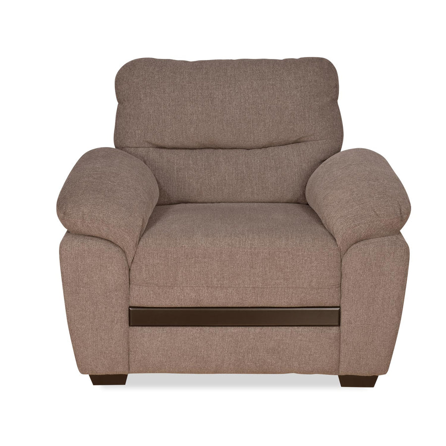Nilkamal Hobart 1 Seater Sofa (Brown)