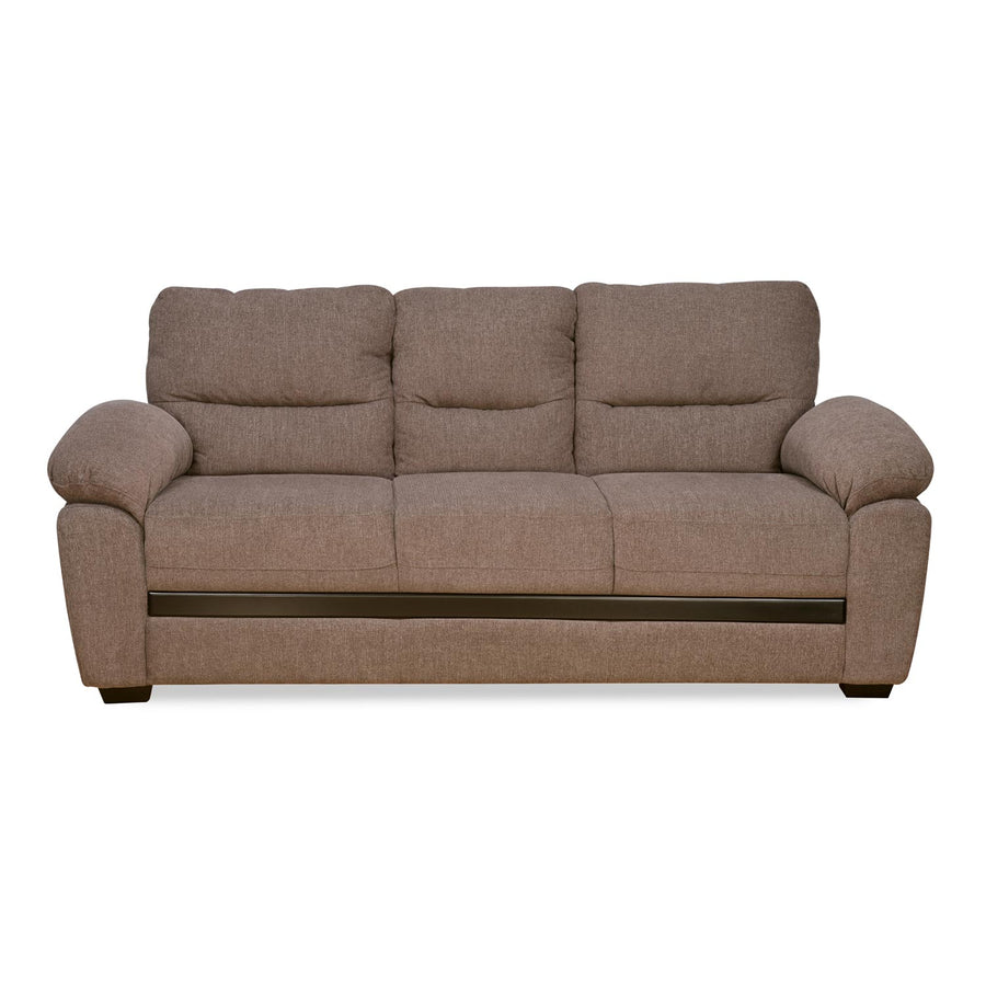 Nilkamal Hobart 3 Seater Sofa (Brown)