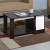 Nilkamal Hope Coffee Table (Walnut/White)