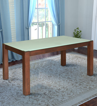 Nilkamal Brighton 6 Seater Dining Table (Expresso)