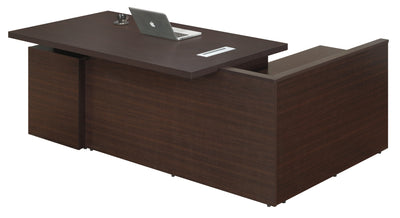 Nilkamal Elegant Executive Table (Walnut)