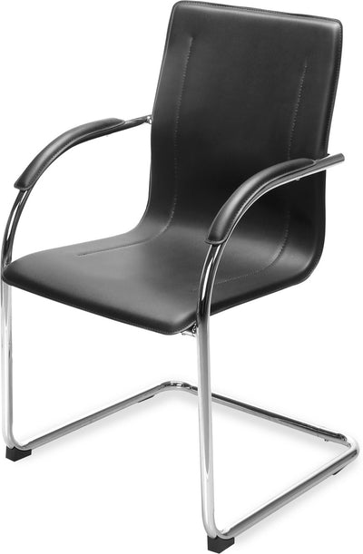 Nilkamal Falcon Visitor Chair (Black)