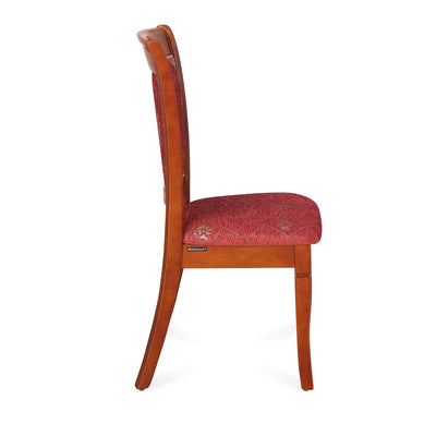 Nilkamal Garrick Dining Chair (Chestnut)