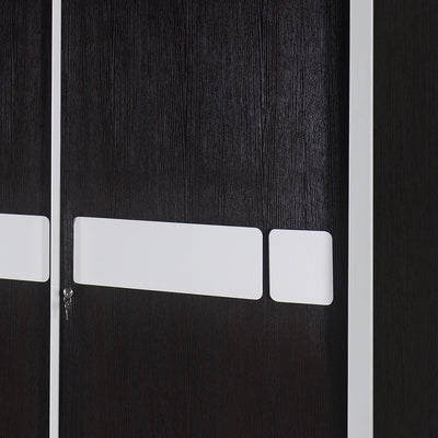 Nilkamal Ignis Sliding Wardrobe (Dark Brown)