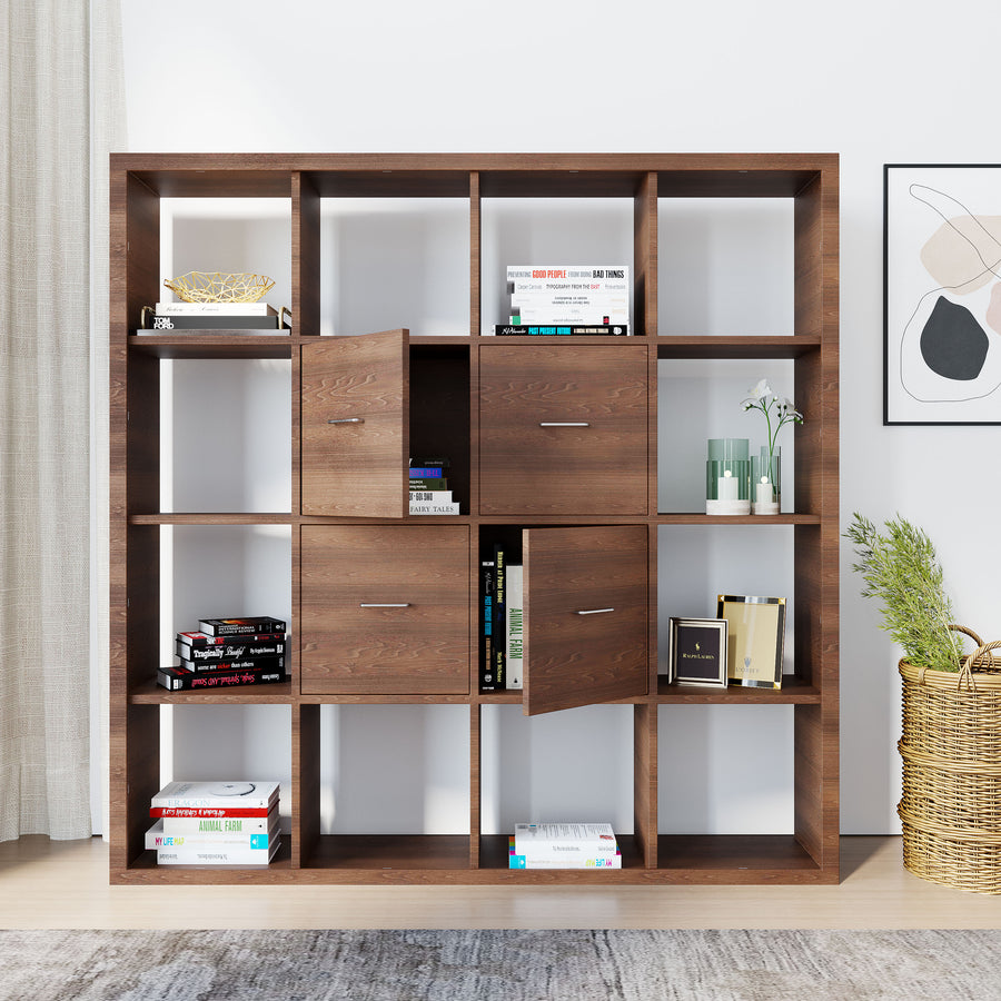 Nilkamal Hera Book Case (Walnut)